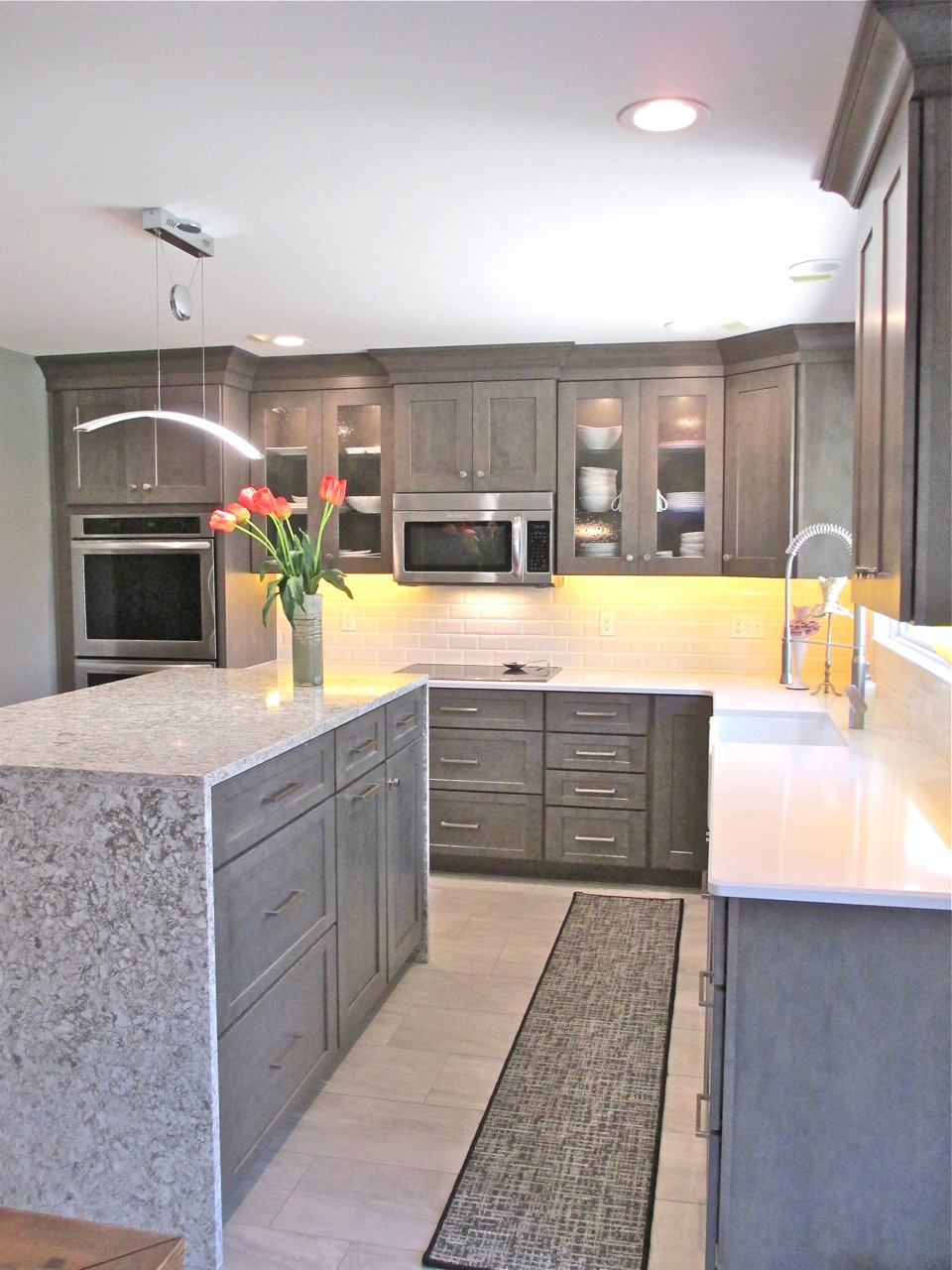 Kitchen Trends Waterfall Edge Counter Tops Callier And Thompson